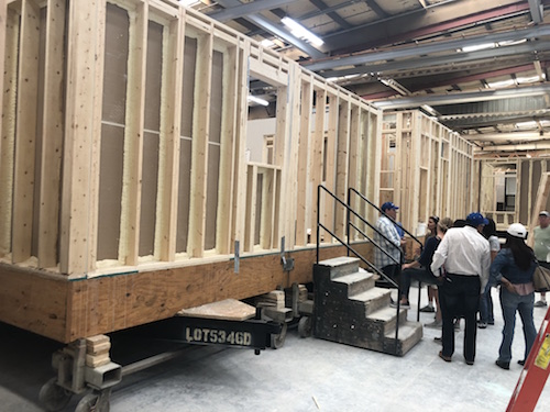 ADU Factory Tour Gives High Marks for Manufactured granny flats